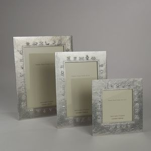 Baby Charms Cast Pewter Photo Frame - home accessories