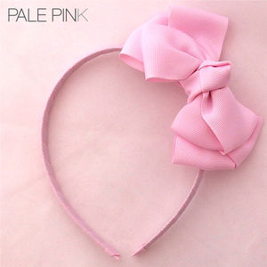 Angel's Face Bow Aliceband - hair accessories