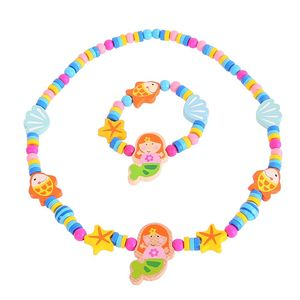 Childrens Necklace And Bracelet Jewellery Set - necklaces