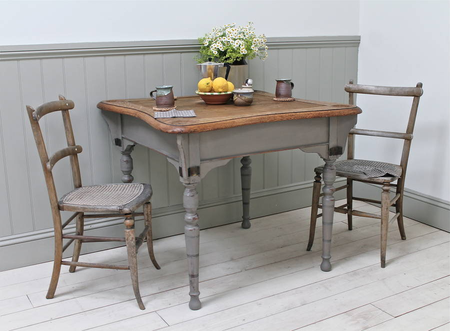 Distressed Oak Kitchen Table By Distressed But Not Forsaken
