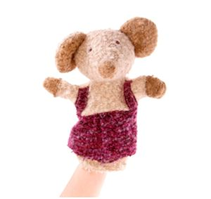Soft Fabric Mouse Hand Puppet