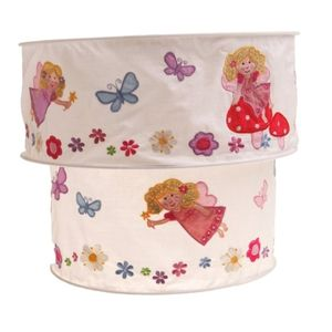 Girls Two Tiered Fairy Lampshade - living room