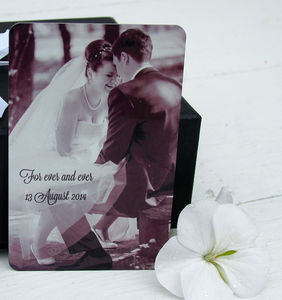 Photo And Message Wallet Insert - cards