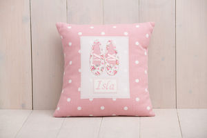 Personalised Ballet Shoes Cushion - cushions
