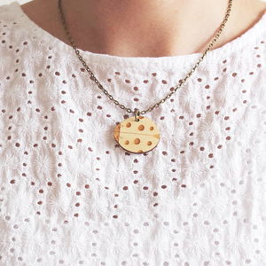 Wooden Ladybird Necklace - necklaces & pendants