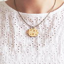 Wooden Ladybird Necklace