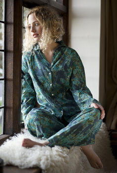 Cotton pyjamas vintage rose bluebell out of stock till mid Nov