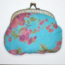 Clip Purse in vintage rose ultramaine