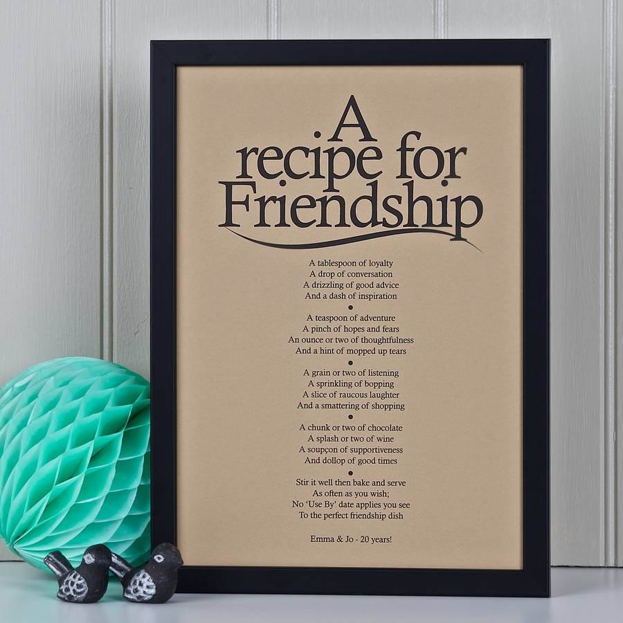 Friendship Cake Recipe