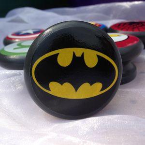 Batman Logo Door Drawer Cupboard Knob