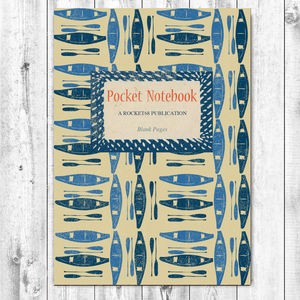 Canoe Notebook - stationery