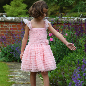 Rose Pink Prom Dress - for children