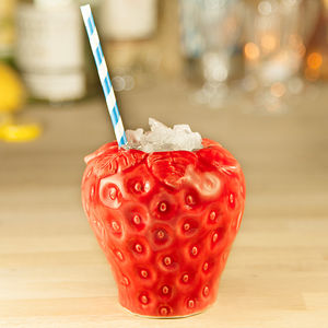 Strawberry Cocktail Mug