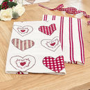 Country Heart Tea Towel Gift Set