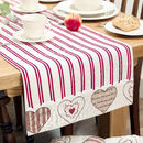 Cotton Clarise Table Runner