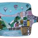 Clifton Balloons Bristol Large Chopping Board