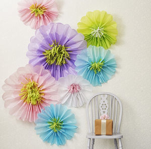 Giant Paper Flowers For Wedding Backdrop - summer wedding
