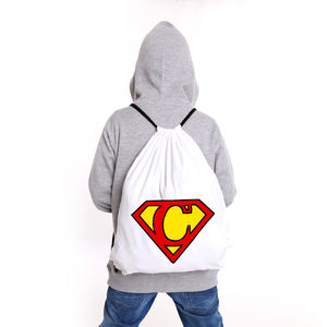Personalised Superhero P.E Bag