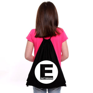 Personalised Initial P.E Bag - bags, purses & wallets