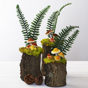 Woodland Wedding Mushroom Table Decoration