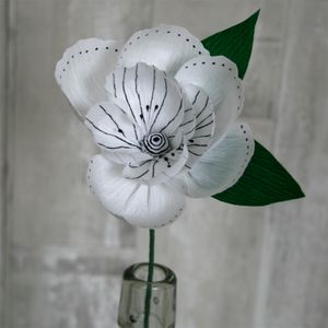 Monochrome Paper Flower - flowers & plants