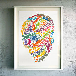 'Inner Workings Of The Mind' Fine Art Giclée Print - contemporary art