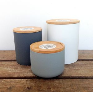 Rubber Coated Storage Jar