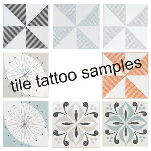 Tile Tattoos Samples - decorative accessories