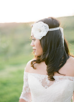 Juliette Lace Headband