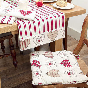 Country Heart Table Linen Collection - extraordinary table decorations