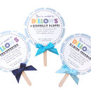 Child's Lollipop Birthday Party Invitation