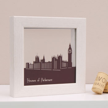 Houses Of Parliament Mini Wall Art