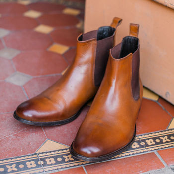 Chester Leather Chelsea Boots