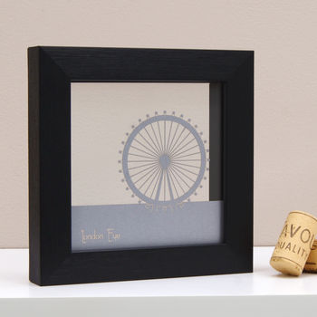 London Eye Mini Wall Art