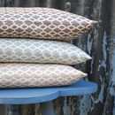 Printed Linen Cushion Gelert Ii