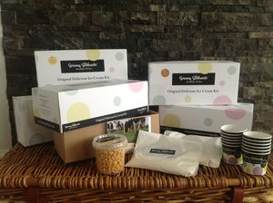 Honeycomb Crunch Ice Cream Making Kit - food gifts