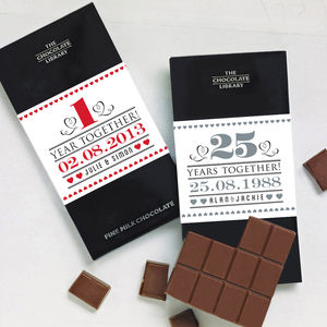 Wedding Anniversary Gift Chocolate - food & drink gifts
