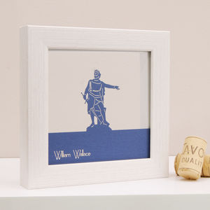 William Wallace Mini Wall Art - shop by price