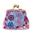 Shadow Berry Silk Purse