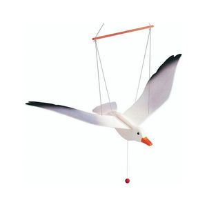 Wooden Seagull Mobile