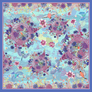 Bloom Silk Scarf - gifts for grandmothers