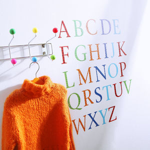 Childrens Alphabet Wall Stickers Upper And Lower Case - wall stickers