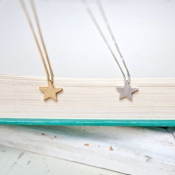 Twinkle Star Bead Necklace
