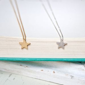 Twinkle Star Bead Necklace - necklaces & pendants