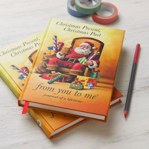Christmas Present, Christmas Past Memory Book - gifts for families