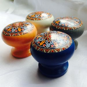 Moroccan Bazaar Mortice Door Drawer Cupboard Knob - door knobs & handles
