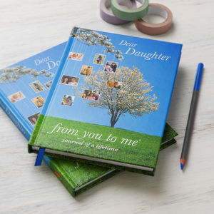 'Dear Daughter', Journal Of A Lifetime - planning & organising