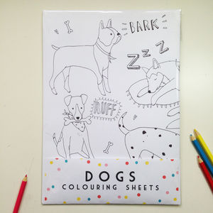 Dog Colouring Sheets - toys & games