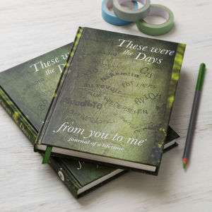'These Were The Days' Leaving Book - our favourite leaving gifts