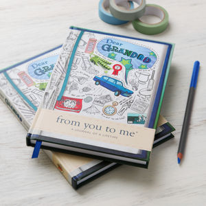 'Dear Grandad' Journal Of A Lifetime - gifts for him